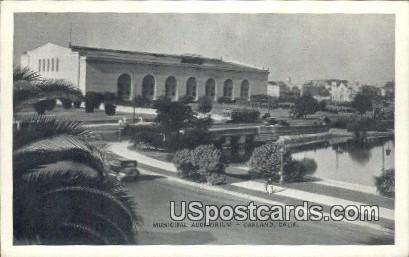 Municipal Auditorium - Oakland, California CA Postcard