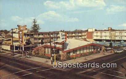 Imperial 400 Motel - Sacramento, California CA Postcard