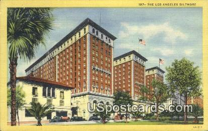 Los Angeles Biltmore - California CA Postcard