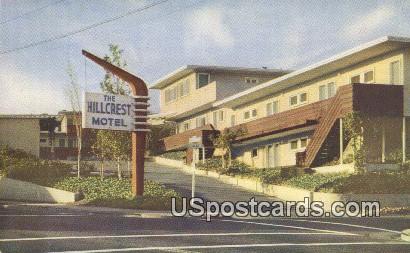 Hillcrest Motel Inc - Oakland, California CA Postcard