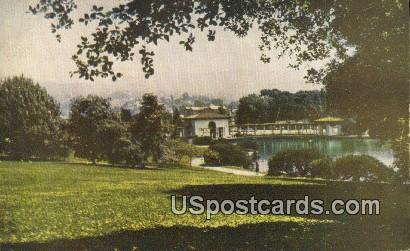 Embarcadero - Lake Merritt, California CA Postcard