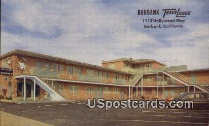Burbank Travelodge - California CA Postcard