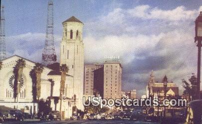 Wilshire Christian Church - Los Angeles, California CA Postcard