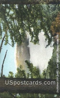 San Antonio, Echo Rock - Mt. Wilson, California CA Postcard