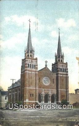Catholic Church - Bakersfield, California CA Postcard