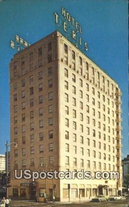 Hotel Teris - Los Angeles, California CA Postcard