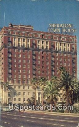 Sheraton Town House - Los Angeles, California CA Postcard