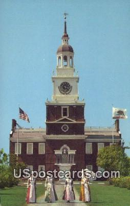 Independence Hall, Knott's Berry Farm - Buena Park, California CA Postcard
