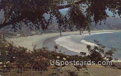 Pacific Coastline - Laguna Beach, California CA Postcard