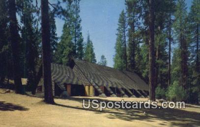 Lakeside Chapel - Kings Canyon National Park, California CA Postcard