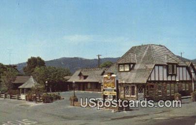 Hamlet Motel - Solvang, California CA Postcard