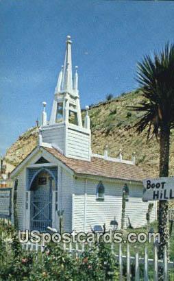 Indian Theatre & Village Museum - Saugus, California CA Postcard