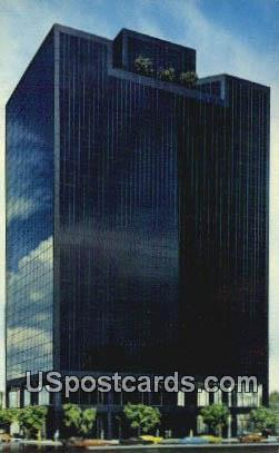 800 Wilshire Building - Los Angeles, California CA Postcard