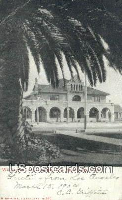 Woman's Club House - Los Angeles, California CA Postcard