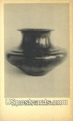 Water Jar, Santa Clara Pueblo - Los Angeles, California CA Postcard