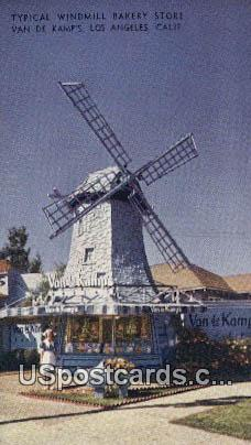 Windmill Bakery Store, Van De Kamps - Los Angeles, California CA Postcard