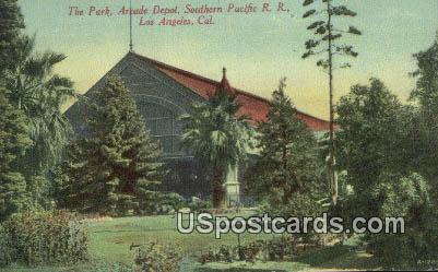Park, Arcade Depot - Los Angeles, California CA Postcard