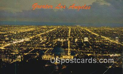 Griffith Park Observatory & Planetarium - Los Angeles, California CA Postcard