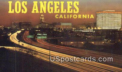 City Hall & Civic Center - Los Angeles, California CA Postcard