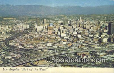 Los Angeles, CA Postcard       ;       Los Angeles, California