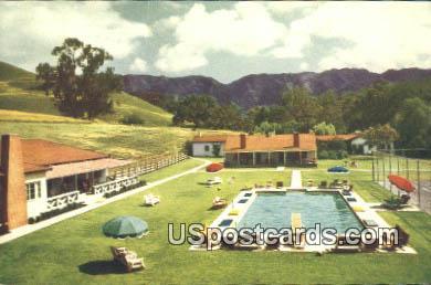 Alisal Ranch - Solvang, California CA Postcard