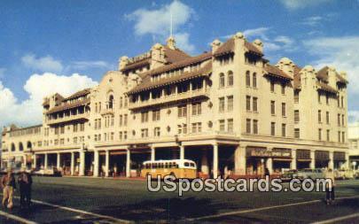 Hotel Stockton - California CA Postcard