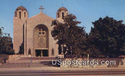 St Sophia's Greek Orthodox Church - Los Angeles, California CA Postcard