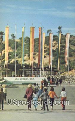 Los Angeles Zoo - California CA Postcard