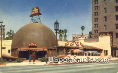 Brown Derby Restaurant - Los Angeles, California CA Postcard