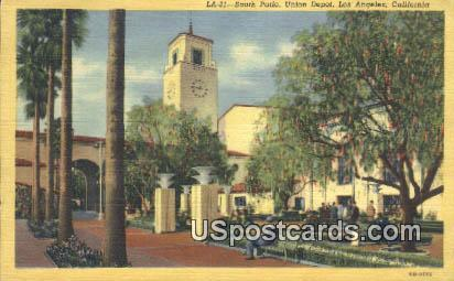 Union Depot - Los Angeles, California CA Postcard