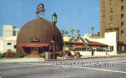Original Brown Derby Restaurant - Los Angeles, California CA Postcard