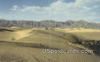 Death Valley, California, Postcard       ;       Death Valley, CA