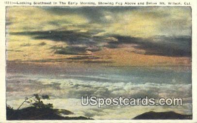 Mt. Wilson, California, Postcard       ;       Mt. Wilson, CA