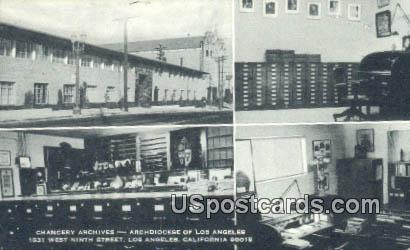 Chancery Archives - Los Angeles, California CA Postcard