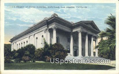 Fifth Church of Christ Scientist - Los Angeles, California CA Postcard