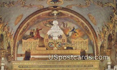 Choir Loft, Saint Sophia Cathedral - Los Angeles, California CA Postcard