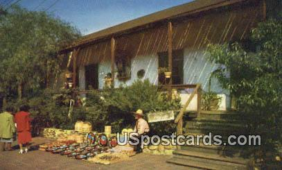 Avila Adobe - Los Angeles, California CA Postcard