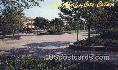 Los Angeles City College - California CA Postcard