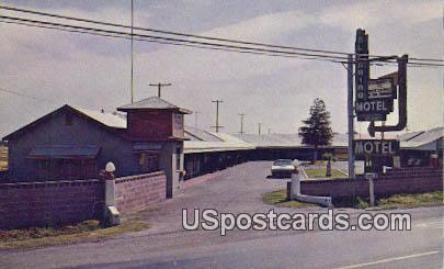 El Camino Motel - Stockton, California CA Postcard