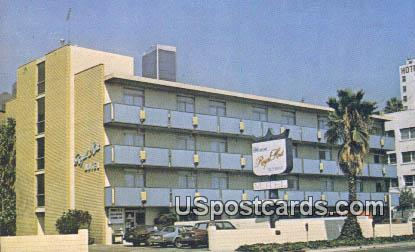 Royal Host Olympic Motel - Los Angeles, California CA Postcard