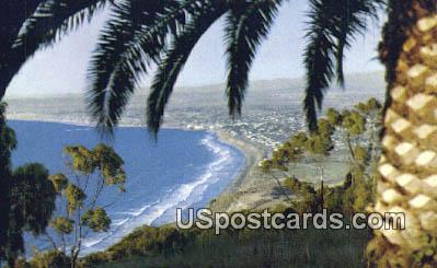 Pacific Ocean - Los Angeles, California CA Postcard