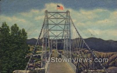 World's Highest Bridge - Canon City, Colorado CO Postcard