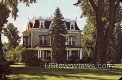 Robinson Mansion - Canon City, Colorado CO Postcard