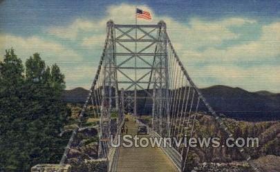 p[ Royal Gorge Bridge - Canon City, Colorado CO Postcard