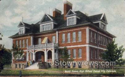 North Canon High School  - Canon City, Colorado CO Postcard