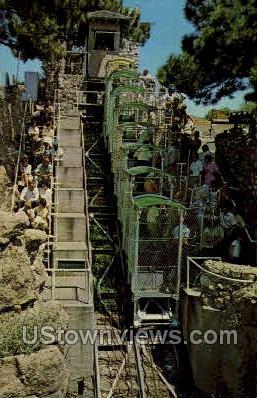 Incline Cable Car Royal Gorge - Canon City, Colorado CO Postcard