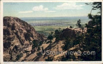 The Valley - Cheyenne, Colorado CO Postcard
