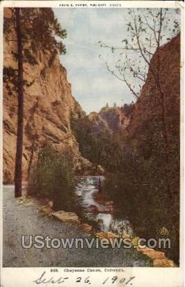 Cheyenne Canon - Colorado CO Postcard