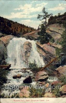 Ramona Falls - Cheyenne, Colorado CO Postcard