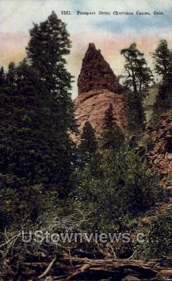 Prospect Dome - Cheyenne, Colorado CO Postcard